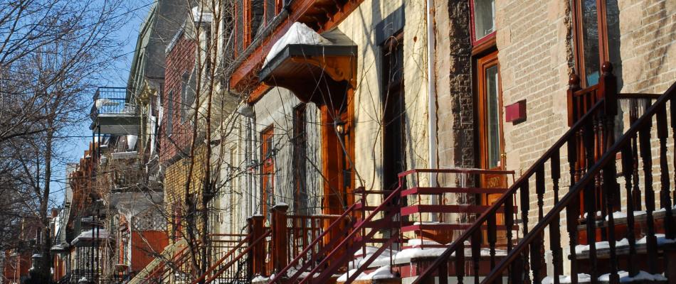 Rue en hiver