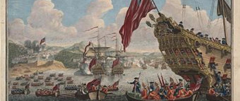Bataille entre Anglais et Français au Québec