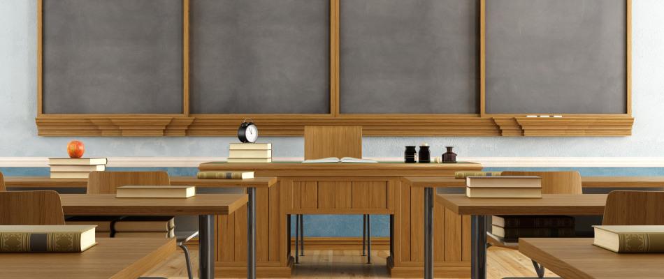 Salle de classe au Québec