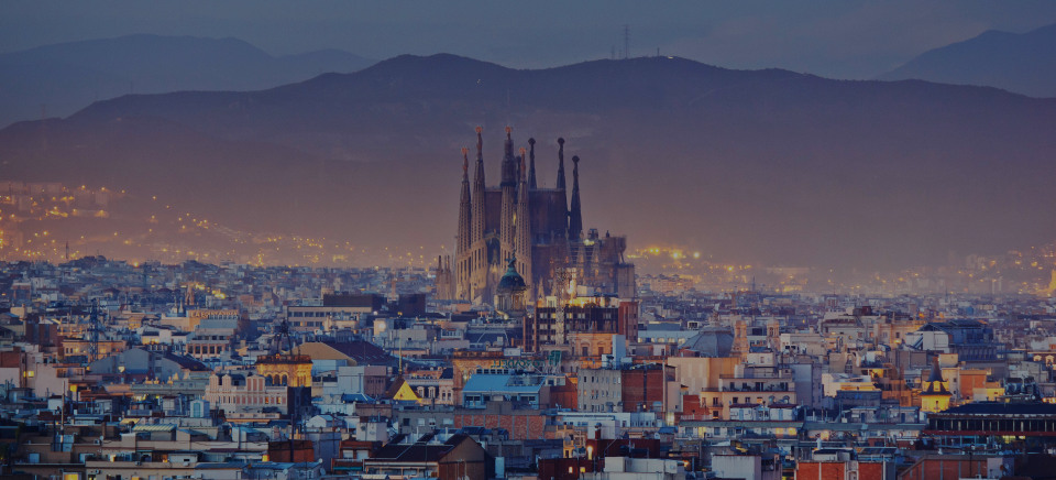 Barcelona, the luxury real estate area in Spain