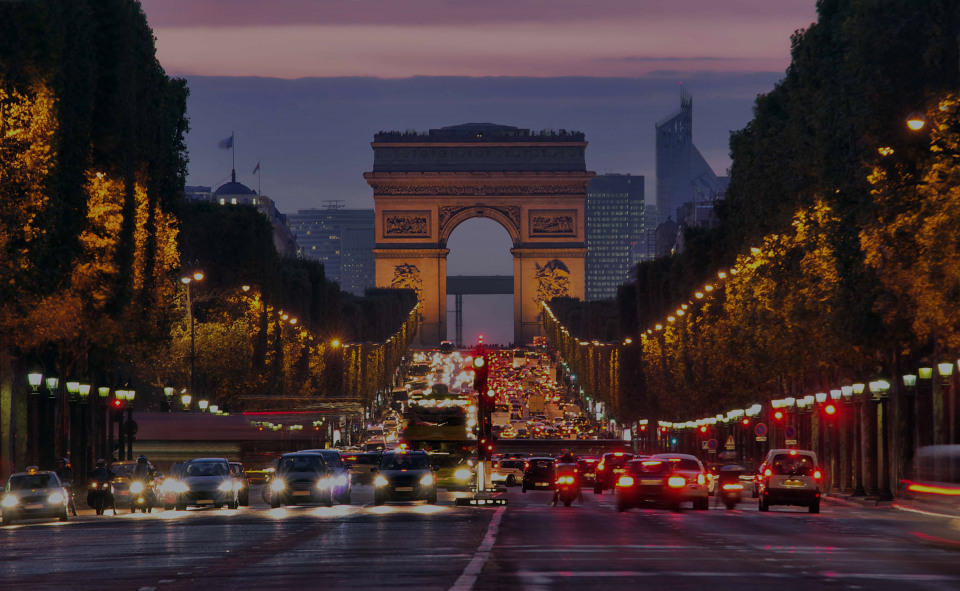 Paris, the luxury real estate area in France
