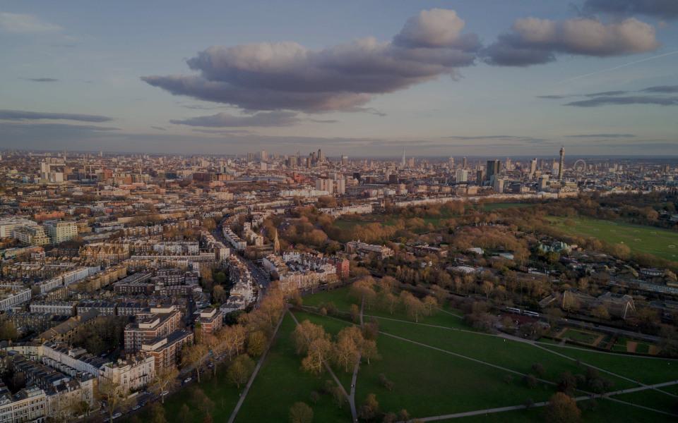 Primrose Hill , the luxury real estate hotspot in London - United Kingdom