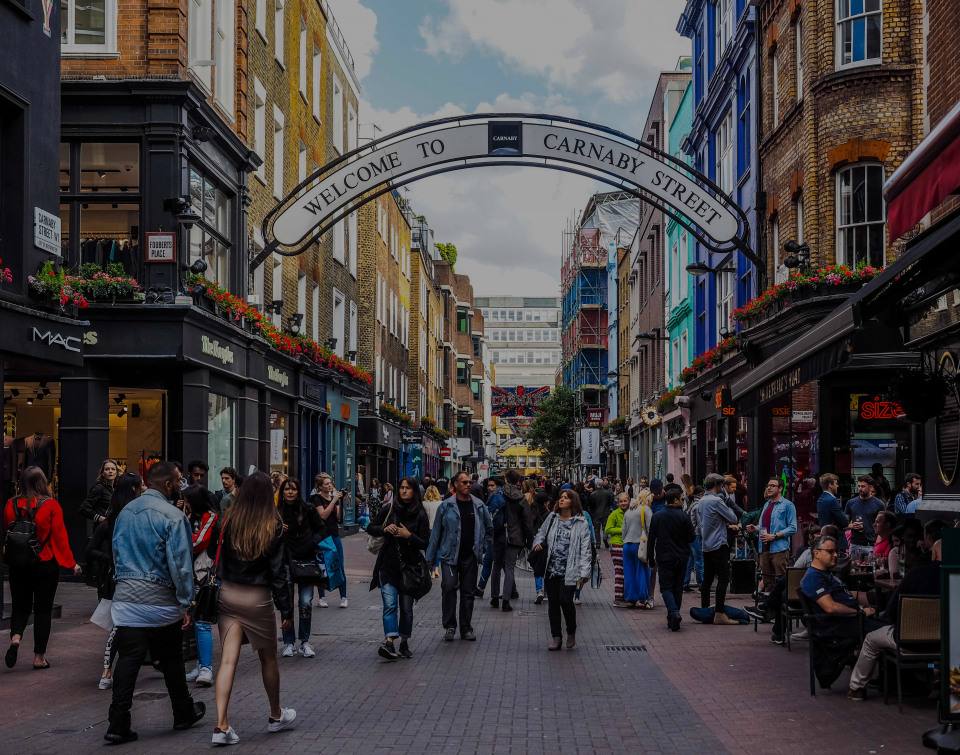 Soho, the luxury real estate hotspot in London - United Kingdom