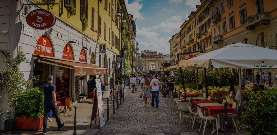 Moscova - Corso Como , the luxury real estate hotspot in Milan  - Italy